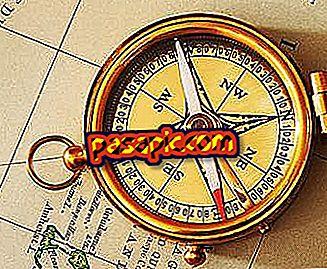 Kako se orientirati s kompasom
