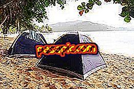 Kuinka leirintä rannalla - virkistystoimintaa