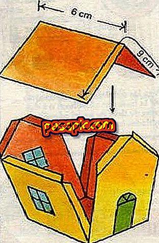 Cách làm nhà giấy