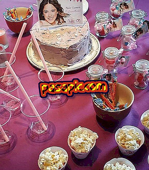 Як зробити вечірку Віолетти