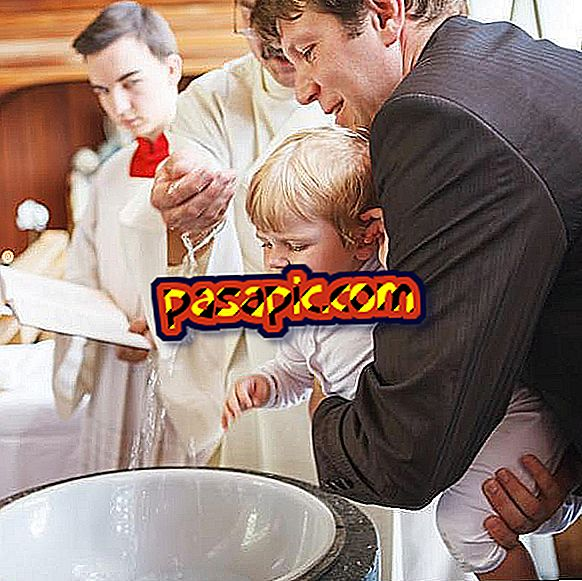 How to choose the baptismal sponsors - weddings and parties