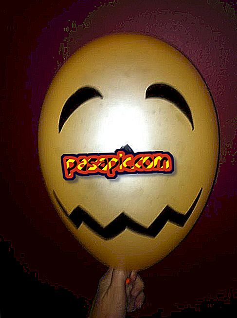 How to make terrifying faces with balloons to decorate your Halloween party - weddings and parties