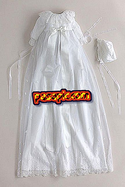 How to keep the baptism dress