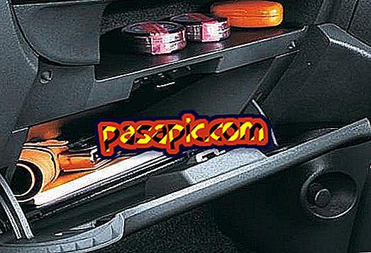 Cosa devo portare nel vano portaoggetti della macchina