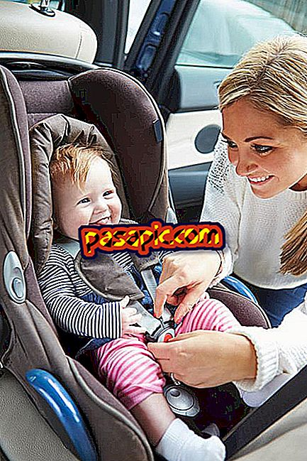 How to place the child seat in the car - cars