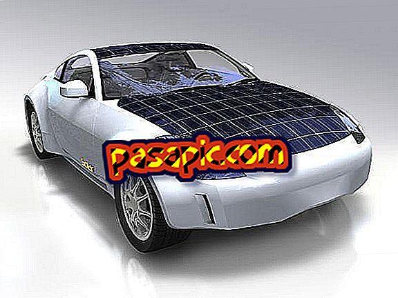 Hvordan solbiler arbejder