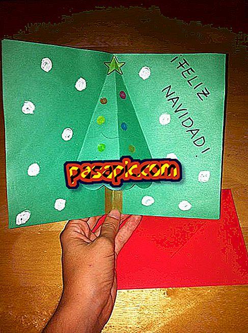 Come realizzare una cartolina di Natale 3D