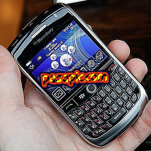 Bagaimana untuk mengemas kini sistem pengendalian pada BlackBerry Curve 8900
