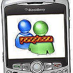 Messengeri allalaadimine BlackBerry Curve'i