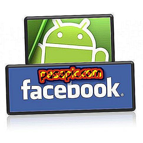 Facebook-valokuvien käyttäminen yhteystietoni Androidissa
