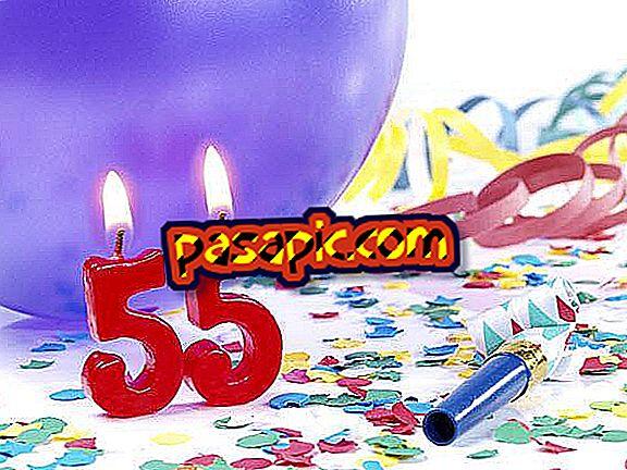 Come festeggiare il mio 55 ° compleanno - feste e celebrazioni