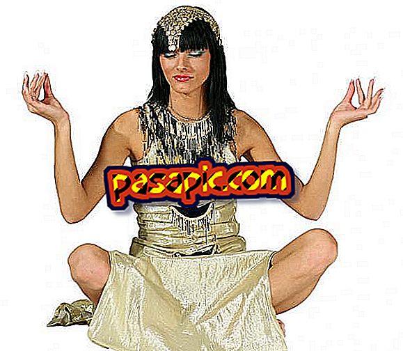 Kako izraditi domaći egipatski kostim