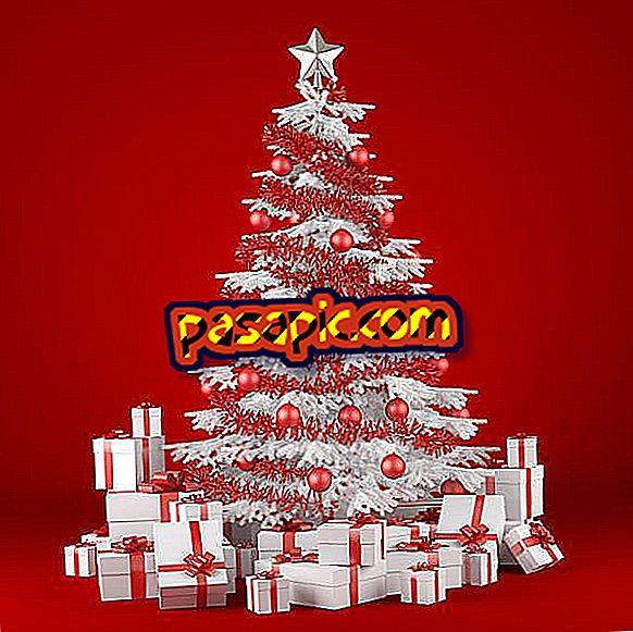 Come decorare alberi di Natale bianchi - feste e celebrazioni
