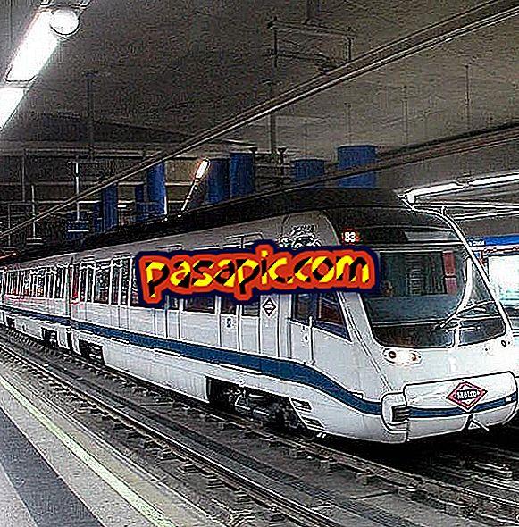Kako obiskati javni prevoz v Madridu konec leta