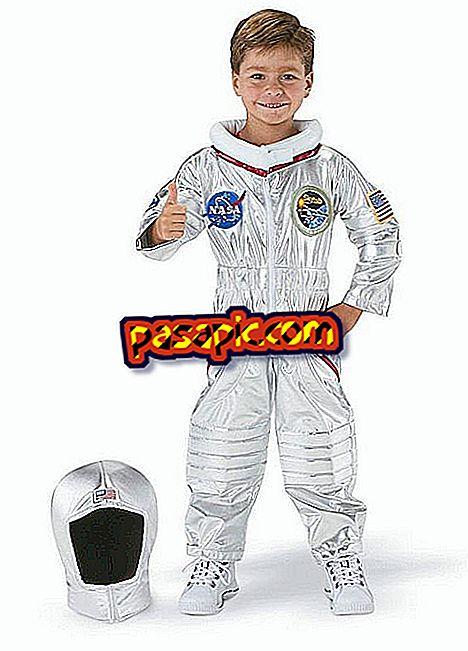 Come realizzare un costume da astronauta per bambini