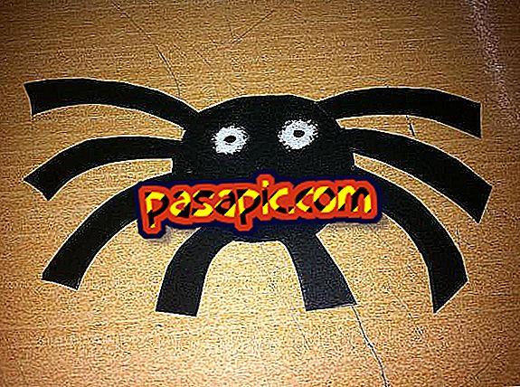 Wie man eine Spinne macht, um deine Halloween-Party zu schmücken