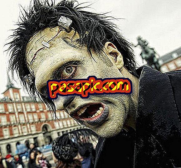 Frankenstein kostümü nasıl yapılır