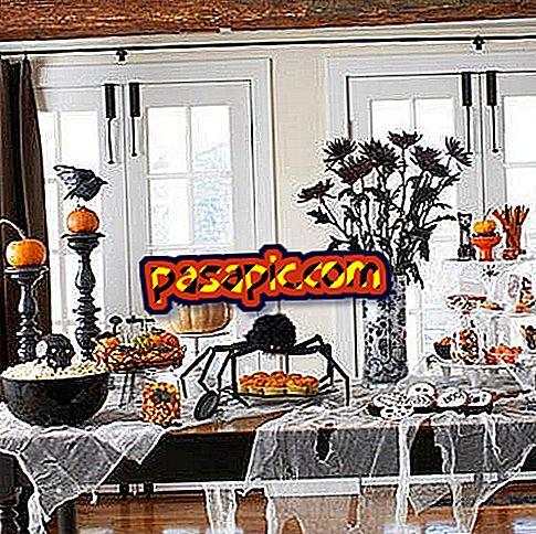 Come decorare la tavola per Halloween - feste e celebrazioni