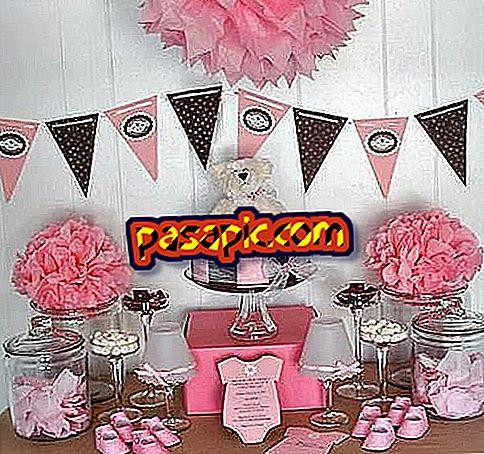 Come decorare un baby shower - feste e celebrazioni