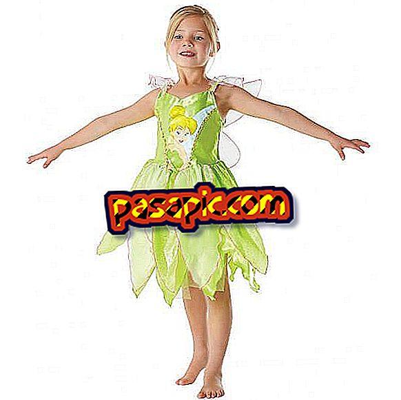 Kako narediti Tinker kostum