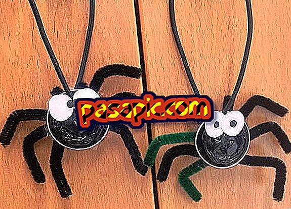 Artesanato para o Halloween: aranhas com cápsulas de café