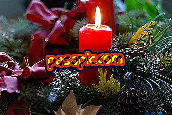 Come decorare le candele per Natale - feste e celebrazioni