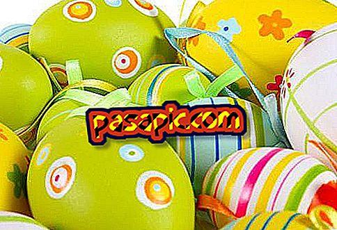 Come decorare un uovo di Pasqua - feste e celebrazioni