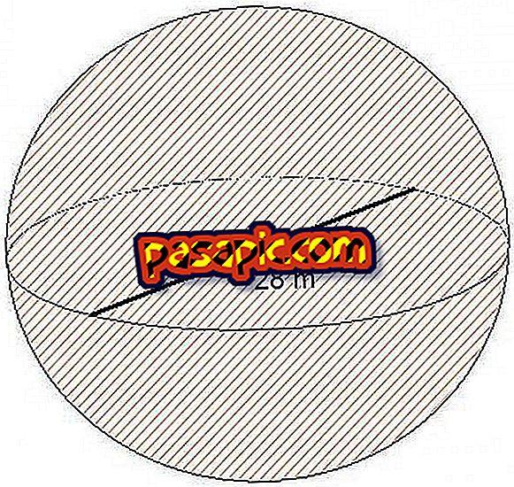 Come calcolare il volume di una sfera - formazione