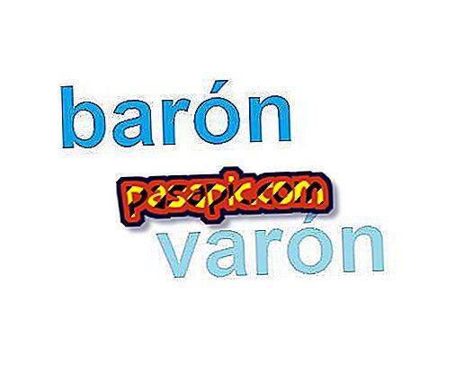 Jaka jest różnica między baronem a mężczyzną