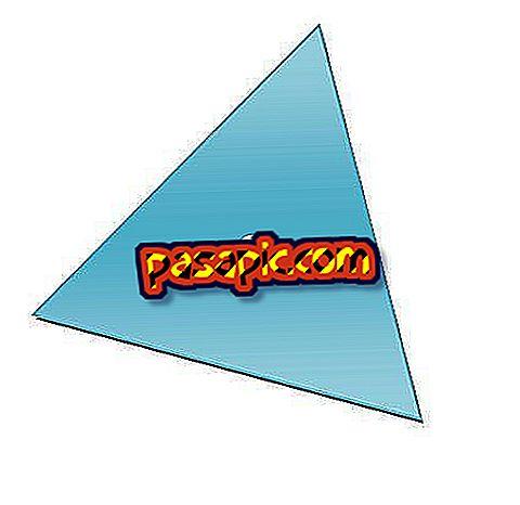 Come calcolare il centro di un triangolo - formazione