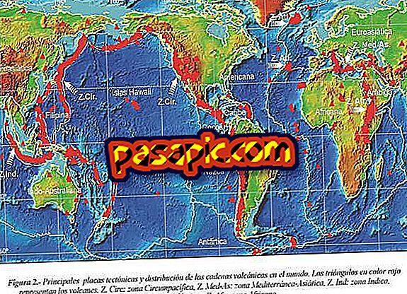 Quali sono le aree vulcaniche del mondo