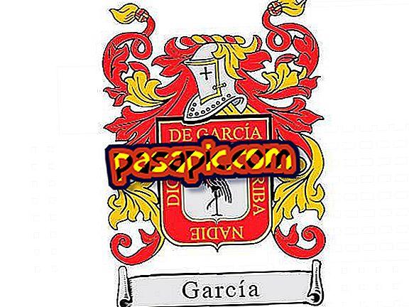 Mis on perekonnanime García päritolu