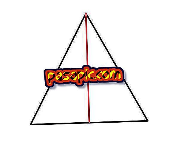 Wie erkennt man die Höhe eines Dreiecks anhand der Fläche?