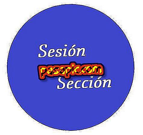 Qual è la differenza tra sessione e sezione