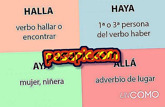 Was ist der Unterschied zwischen halla, haya, aya und ahi?