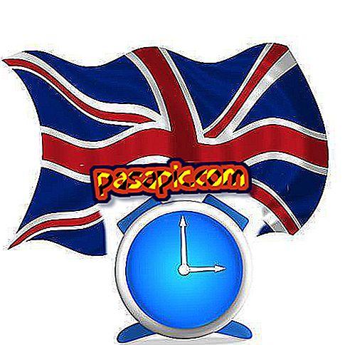 Hvordan skrive timene på engelsk