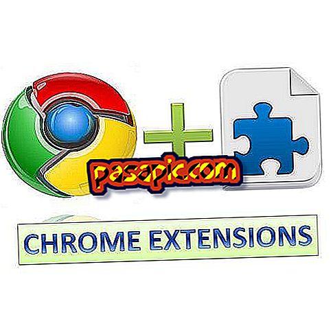 Så här skapar du en förlängning i Google Chrome utan att veta hur du programmerar
