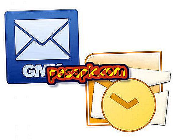 Outlook में gmx को कैसे कॉन्फ़िगर करें