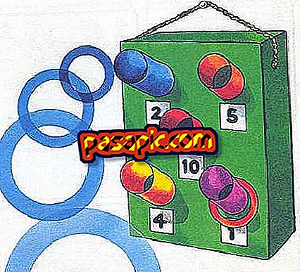 How to make the game of the hoop - toys and games