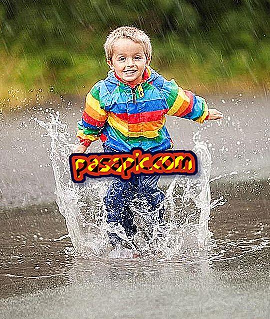 Ką daryti su lietaus vakarais su vaikais