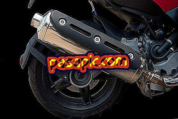 Kako razstaviti izpušno cev motornega kolesa - motorna kolesa