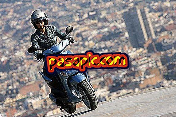 Kako me opremiti, da grem na moped - motorna kolesa