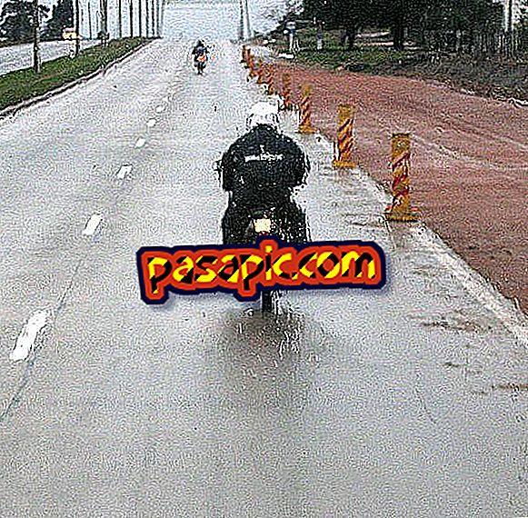 Kako voziti motorno kolo z dežjem - motorna kolesa
