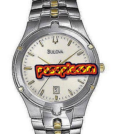 Come cambiare la data degli orologi Bulova - computer