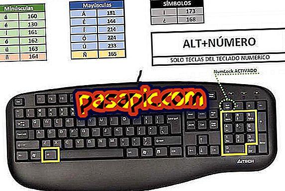 Wie man Akzente mit der Tastatur schreibt, akzentuierte Vokale - Windows