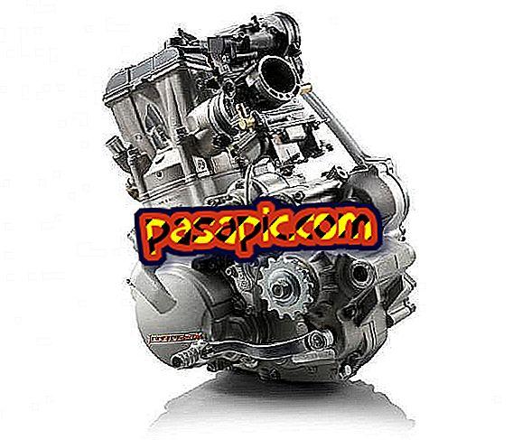 Was sind die Motorteile eines Motorrades?