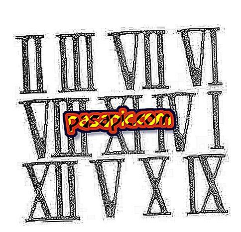Come sono i numeri romani