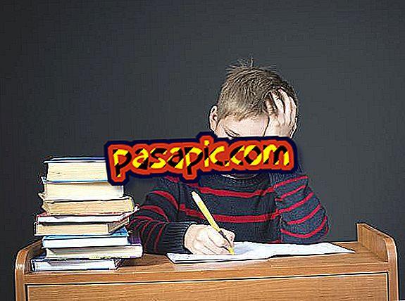 Hur gör min son att studera