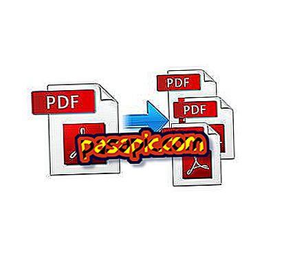 Come dividere un pdf - software