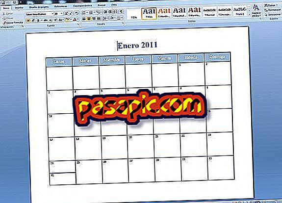 Come creare calendari in Word - software